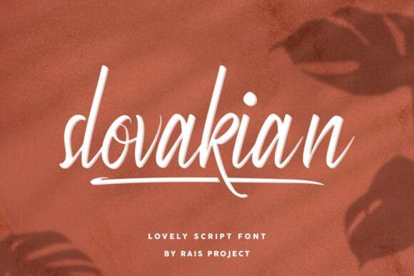 Slovakian Font
