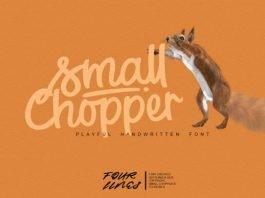 Small Chopper Font