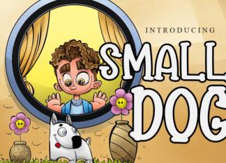 Small Dog Font