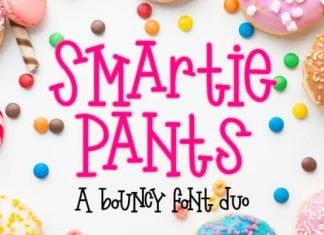 Smartie Pants Font