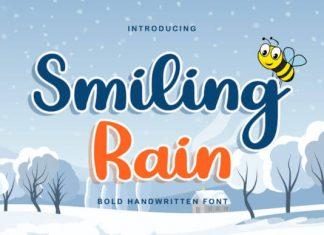 Smiling Rain Font