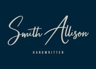 Smith Allison Font