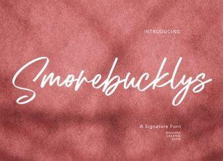 Smorebucklys Signature Font