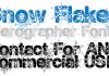 Snow Flakes Font