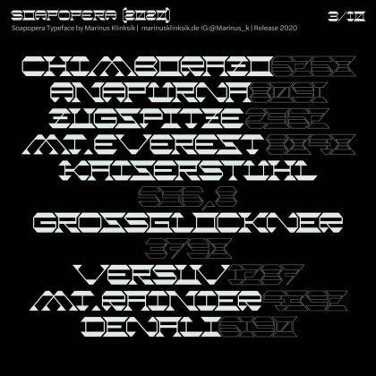 Soapopera Font