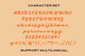 Sogate - Bold Script Font