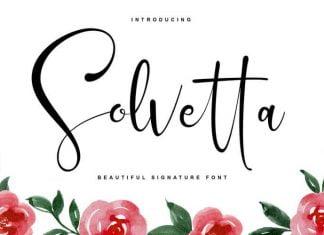 Solvetta Font