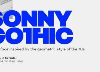 Sonny Gothic Font
