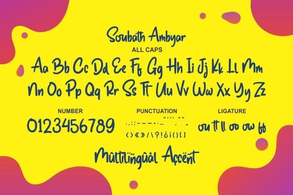 Soubath Ambyar Font