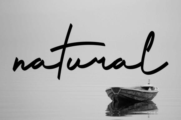 Southerly - Handwritten Script Font