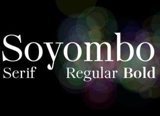 Soyombo Serif Font