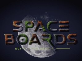 Space Boards - Sci - Fi Logo Typeface Font