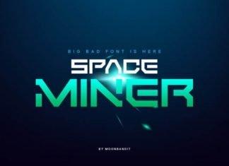 Space Miner font