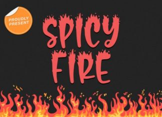 Spicy Fire Font