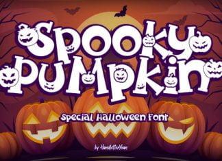 Spooky Pumpkin Font