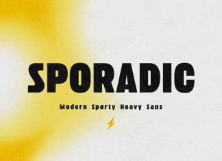 Sporadic - Modern Sport Sans