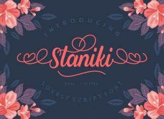 Staniki Font