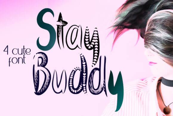 Stay Buddy Font