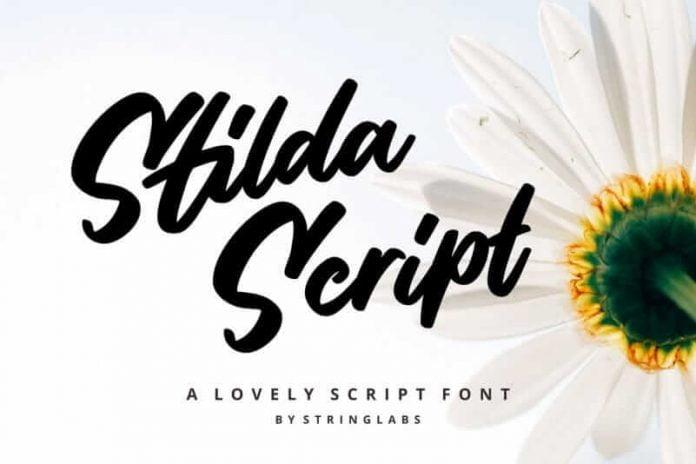 Stilda – Lovely Script Font