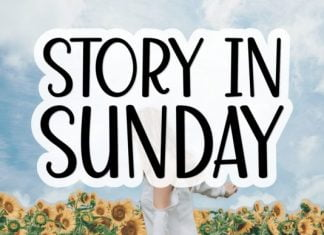 Story in Sunday Font