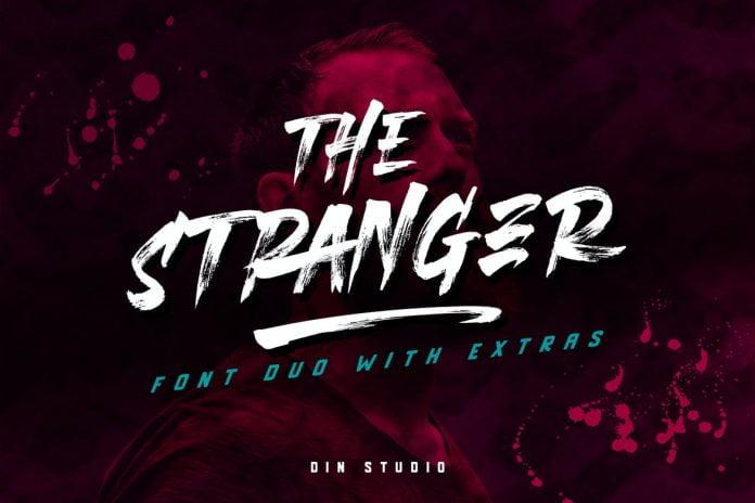 Stranger Font Duo