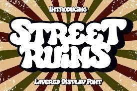 Street Ruins Font