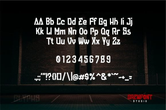 Streetwall Font