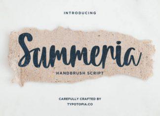 Summeria Font