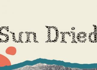Sun Dried Font