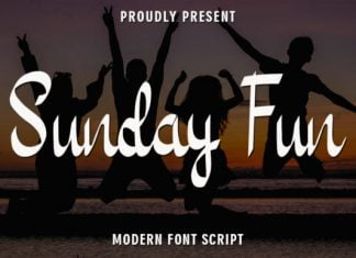 Sunday Fun Font