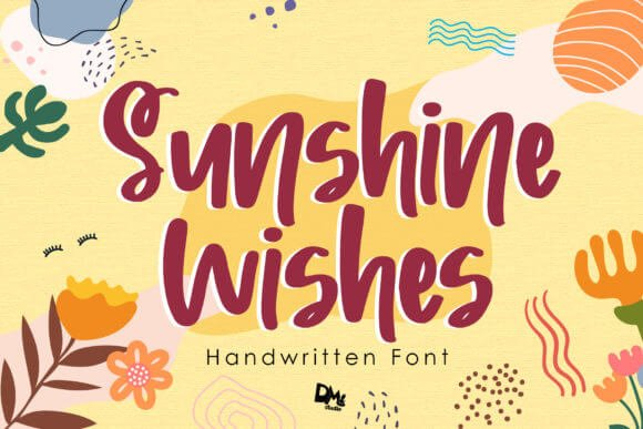 Sunshine Wishes Font