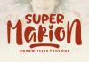 Super Marion Duo Font