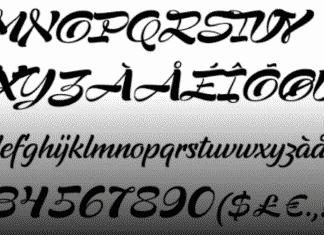 Supernova Script Font