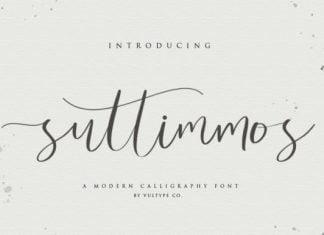 Suttimmos Font