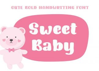 Sweet Baby Font