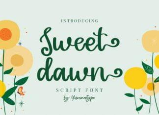 Sweet Dawn Font
