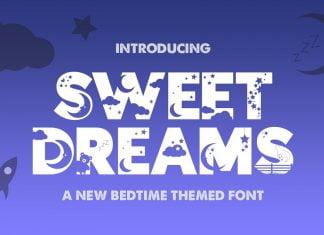 Sweet Dreams Silhouette Font