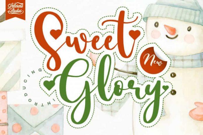 Sweet Glory - Elegant Handwritten Font