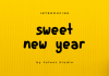 Sweet New Year Font