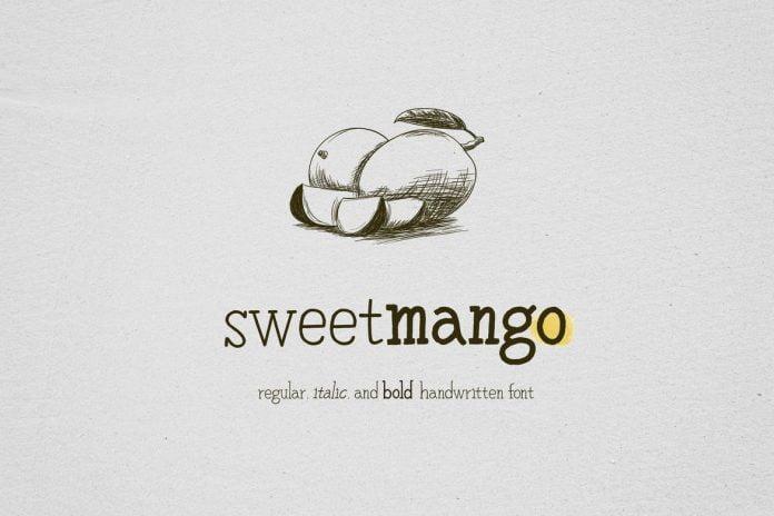 Sweetmango - 3 Styles Handwritten Font