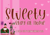 Sweety Stay at Home Font