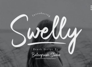 Swelly Font