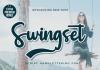 Swingset Font