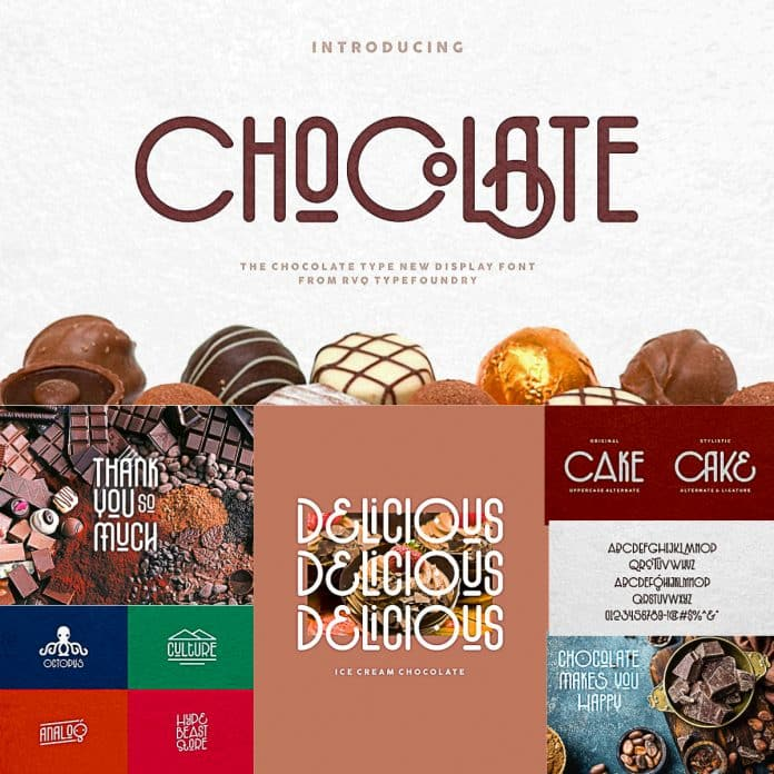 The Chocolate Type Font