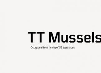 TT Mussels Font