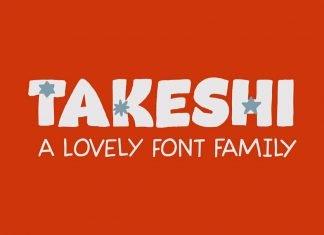 Takeshi Font Family