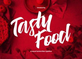 Tasty Food - Casual Handwritten Typeface Font