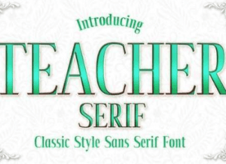 Teacher Font