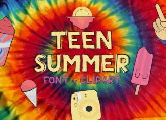 Teen Summer Font
