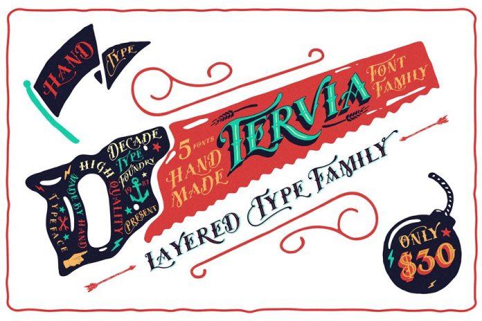 Tervia Font Family